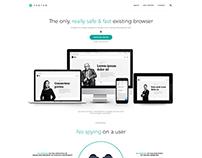 Browser web design