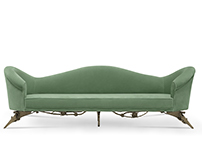 COLETTE Sofa | By KOKET