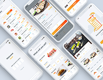 Oriently - Food Delivery App. Case study.