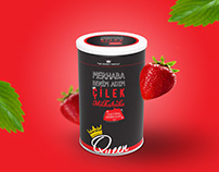 Queen Milkshake Ambalaj Tasarımı, Packaging