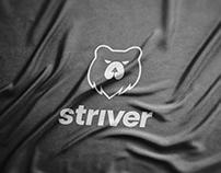 Striver   Sportswear Brand Identity