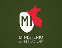 MINISTERIO DEL INTERIOR - REBRANDING