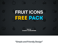FREE! Fruit Icons by Chanut-is-Industries