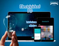 ELECTRICIDAD FD - DISEÑO WEB