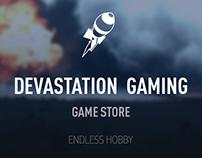 Devastation Gaming. Game Store