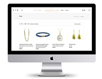 E-Commerce Web Design for Jewelry Business
