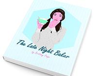 The Late Night Baker - Illustration design