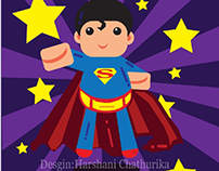 superman cartoon character