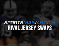 SportsManias Football Rivals Jersey Swaps