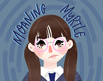 Illustration VI - Moaning Myrtle