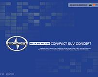 Scion Compact SUV Interior Concept