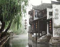 Xitang ancient city / Full Cg