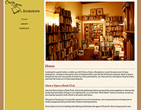 Once a Upon a Bookstore - Concept Site