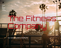 My first HTML & CSS Website: The Fitness Company