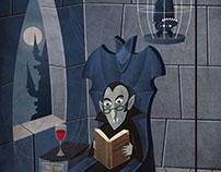 Vampires cartoons