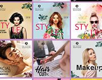 instyle '' Beauty salon and sap'' (Social Media)