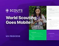 Scouts Mobile App — UX Case Study