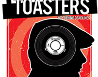 Toasters Gig Poster.