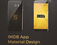 IMDb Android App Redesign (Material Design)