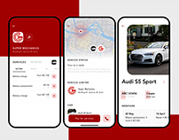 App to book & order car services & washing