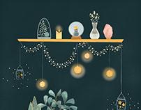 'Cozy' Digital Illustration
