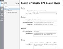 CEB Design Studio Project Intake Form UX