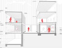 Proyecto Tectónica: Galería Escenario 1 (Semestre 3)