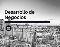 Desarrollo de Negocio: Los Errores Más Comunes