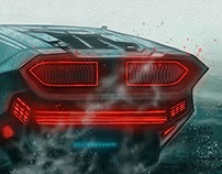 Blade Runner 2049 alternative movie poster illustration