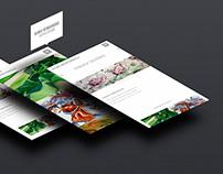 Rania Remoundou Textile Design website