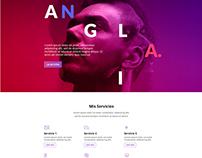 Anglia Traducciones/ Website