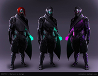 Destiny Warlock redesign