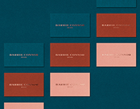 Barrie Connor Design Business Cards