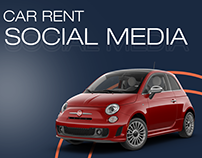 Car Rental Services - Social Media