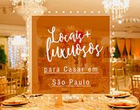 Locais luxuosos para casar em São Paulo