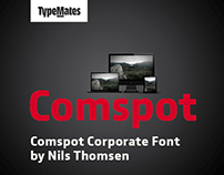 Corporate Font for Comspot and CPN