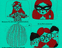 Watermelonie | How to make a comic?