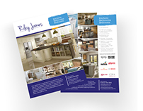 Riley James - Flyer Design