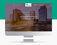 The website of the residential complex