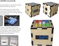Puzzle Box Alarm Clock