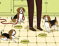 Beagles for The Bark Magazine