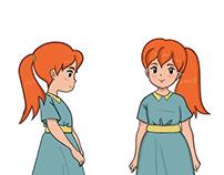 Laila character design