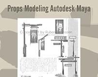 Props Modeling Autodesk Maya