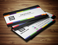 Colorful Business Card - V-1