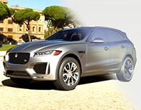 Jaguar F-Pace - Alias/ Catia/ dynamo Modeling