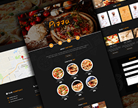Website design : Pizza