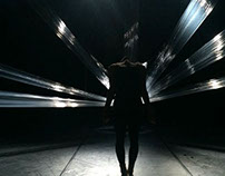 """Scenography for a dance performance """"Dying to Become"""""""