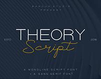 Theory Script font