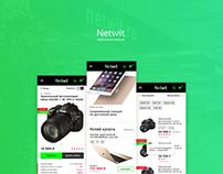 Netwit – мобильная версия интернет магазина