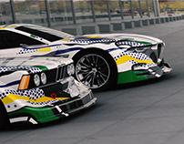 BMW Art Cars Roy Lichtenstein Tribute CGI